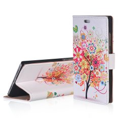RUILEAN TPU Flip Leather Cover untuk HTC Desire 530/Desire 630 (Multicolor)