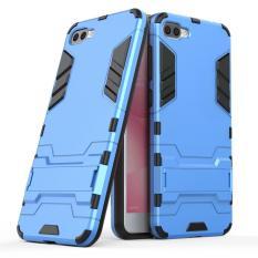 RUILEAN ZenFone 4 Max Pro ZC554KL Case, Dual Layer Iron Man Armor Case Hardcase Stand Cover untuk ASUS ZenFone 4 Max Pro ZC554KL 5.5