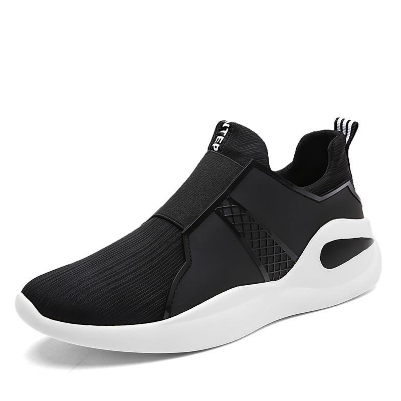 Spesifikasi Running Shoes Cahaya Berat Mesh Olahraga Sepatu Jogging Sneakers Untuk Pria Kolam Flat Berjalan Trend Sepatu Intl Intl Oem Terbaru