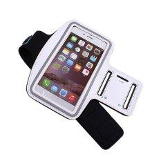 Jual Running Sport Pouch Case Untuk Iphone 5 5 S 5C Arm Band Tahan Lama Tas Telepon Tahan Air Kasus Cover Putih Online Tiongkok