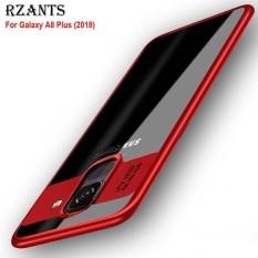 Rzants untuk A8 Plus(2018)【Camera Protect】Hybrid Protective Clear Ultra-thin light Soft Back Case untuk Galaxy A8 Plus(2018) - intl