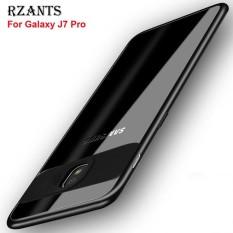 Rzants Case untuk Samsung Galaxy J7 Pro [Pelindung Kamera] Pelindung Ultra-Thin dan Jernih