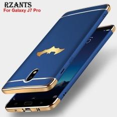 Rzants untuk  J7 Pro Mewah Ultra Tipis Shockproof Hard Back Case Cover untuk  Sam Sung Galaxy J7 Pro-Intl