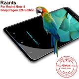 Jual Rzants For Redmi Note 4 Snapdragon 625 Edition Screen Protector Hd Tempered Film Glass Intl Rzants Murah