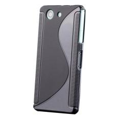 S-Line Shockproof Slim Tugas Berat Lembut Penutup Karet Tpu Pelindung Silikon Case untuk Sony Xperi
