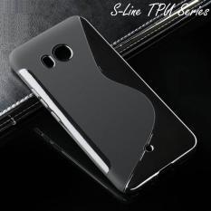 S-Line TPU Case Cover for HTC U11 - Hitam