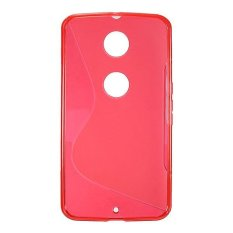 Tipe S Fleksibel TPU Lembut Casing Pelindung Silikon Kulit untuk Motorola Nexus 6 XT1100-Intl