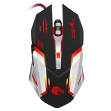 Harga S100 Mechanical Wired Gaming Mouse 5500 Adjustable Dpi 6 Tombol Hitam Intl Branded