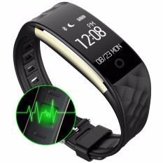 Beli S2 Bluetooth 4 Smart Band Gelang Monitor Denyut Jantung Monitor Smartband Oled Gelang Langkah Kebugaran For Ponsel Android Ios Pk Fitbits Intl Online Murah
