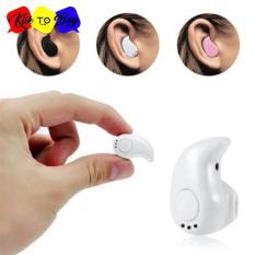 S530 Mini Portabel 4.1 Nirkabel Bluetooth Earphone Olahraga Stereo High-fidelity Kualitas Suara Headset Headphone untuk Hampir Semua Ponsel dan Tablet PC Putih-Intl 1 Pcs