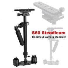Beli S60 Stabilizer Video Gimbal Steadycam Pro For Camcorder Dslr Digital Camera Baru