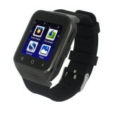 S8 1 54 Inch Touch Screen Bluetooth 4 Android 4 4 Os Mtk6572 Dual Core 1 2Ghz Waterproof Smart Bracelet Watch Phone With 5Mp Front Camera And Sim Card Slot Support Gps Wifi Bluetooth Fm Recorder Ram 512Mb Rom 4Gb Network 3G 2G Black Intl Diskon Akhir Tahun