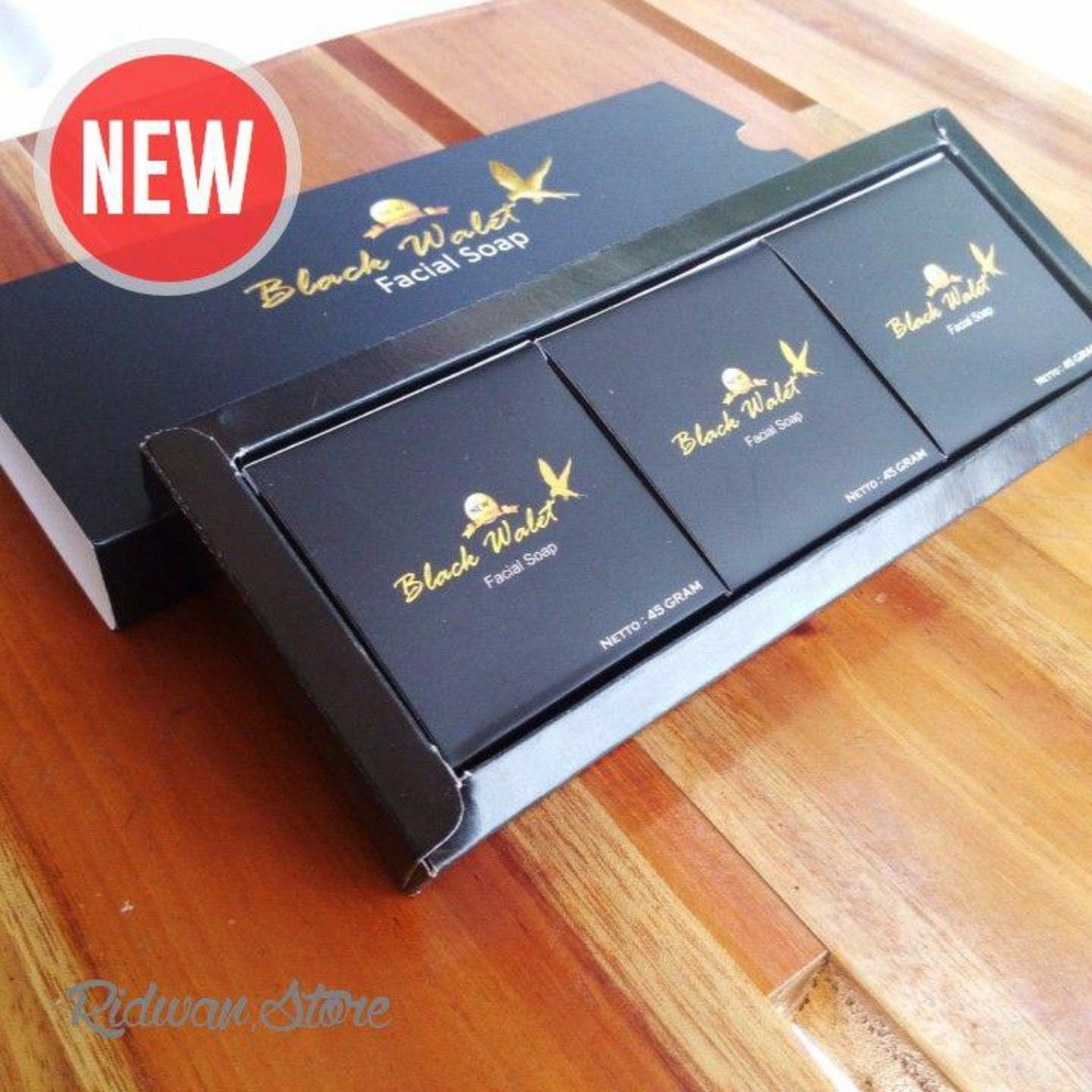 Spesifikasi Sabun New Black Walet Asli Isi 3 Pcs Merk New Black Walet