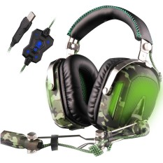 SADES A90 Airplane Game Player Headset Headset Usb Desktop Computer Gaming FPS Headset With Microphone - intl