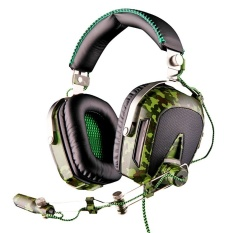 SADES A90 Pilot Kebisingan Membatalkan 7.1 Surround Sound Stereo USBGaming Game Headphone Headset-Intl