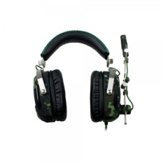 SADES A90 Stereo Gaming Headphone Headset 7.1 USB Surrounding Soundwith Mic 6 Breathing LED Lights Camouflage - intl