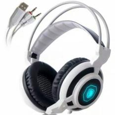 Jual Sades Arcmage 3 5Mm Led Gaming Headset Stereo Bass Headphones With Mic Volume Control Vibration Termurah