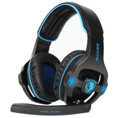 Jual Sades Gaming Head Set Sa 903 Black Sades Branded