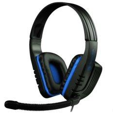 Cara Beli Sades Gaming Headset Chopper Sa 711 Hitam Biru