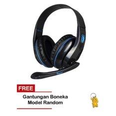 Harga Sades Gaming Headset Tpower Sa 701 Biru Gantungan Boneka