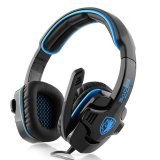 Spek Sades Gpower Sa 708 Headset Gaming Biru Sades