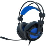 Toko Sades Headset Gaming Locust Sa 704 Usb 2 Soundcard And Microphone Biru Terdekat