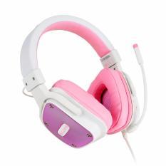 Toko Sades Headset Gaming Sa722 Dpower Pink Sades Di Indonesia