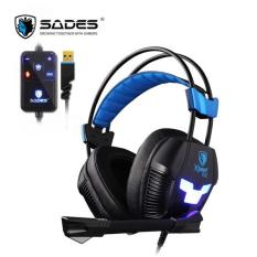 Spesifikasi Sades Headset Gaming X Power Plus Sa706S Hitam Murah
