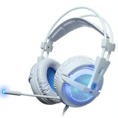 Harga Sades Locust 7 1 Backlight Gaming Headset Putih Branded