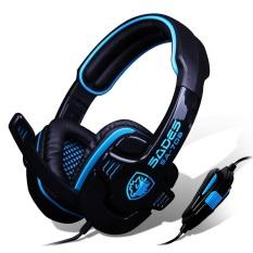 Harga Sades Sa 708 G Power Stereo Gaming Headset Hitam Satu Set