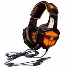 Sades SA-738 Headset Gaming Headphone with Microphone - Orange