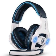 Sades SA-903 Headset Gaming - Putih