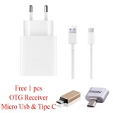 Promo Safe Charger Plus Kabel Data Usb For Lenovo K4 Note Free Otg Micro Usb Tipe C Putih Akhir Tahun