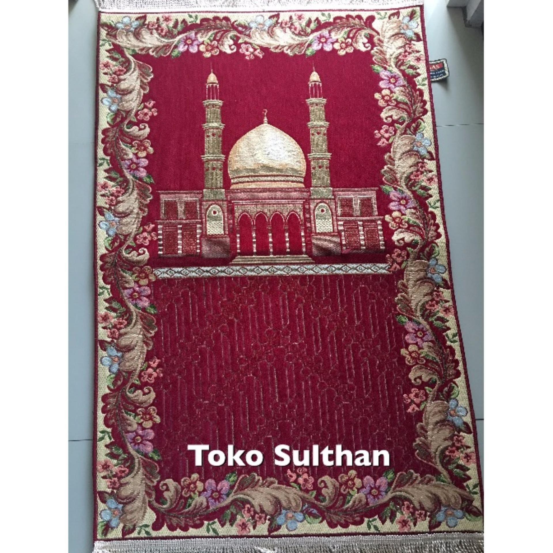 Review Toko Sajadah Busa Premium Merah