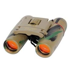 Sakura Teropong Mini Binocular 30X60 Motif Army Diskon Akhir Tahun