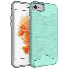 [Penjualan Di Breakdown Harga] Maya Diskon Besar untuk iPhone 6/6 S 7 Plus Anti Guncangan Kasar Hibrida karet Pelindung Keras Telepon Case Sarung-Internasional