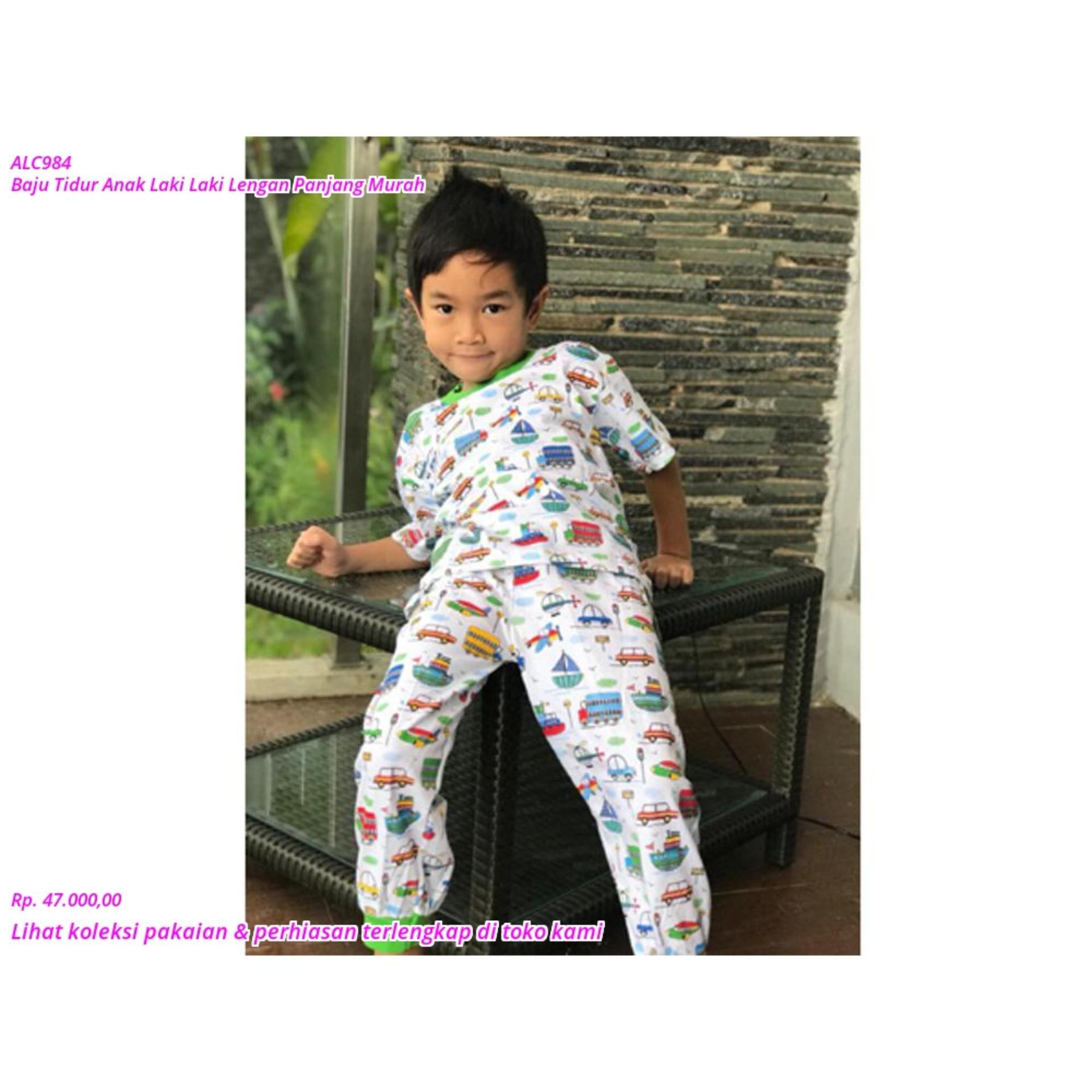 SALE Baju Tidur Anak Laki Laki Lengan Panjang Murah TERMURAH