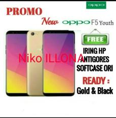 Sale plus plus Oppo F5 youth blackn gold ready