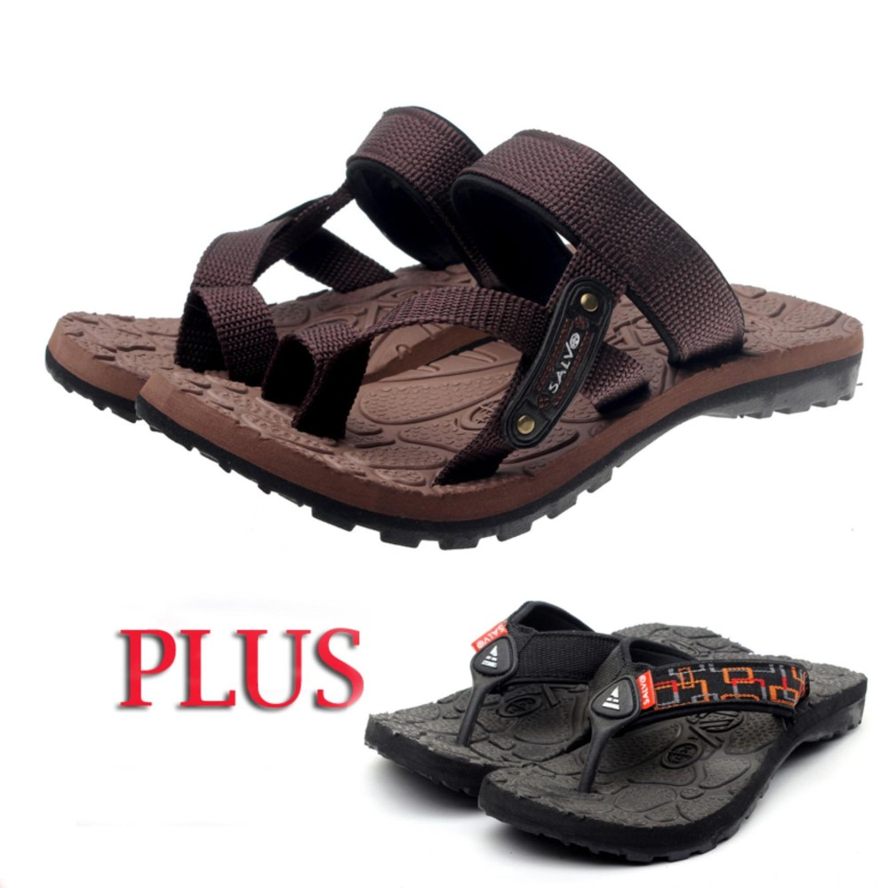 Salvo sandal Gunung pria / sandal pria / sandal gunung outdoor / sandal murah SG01 free