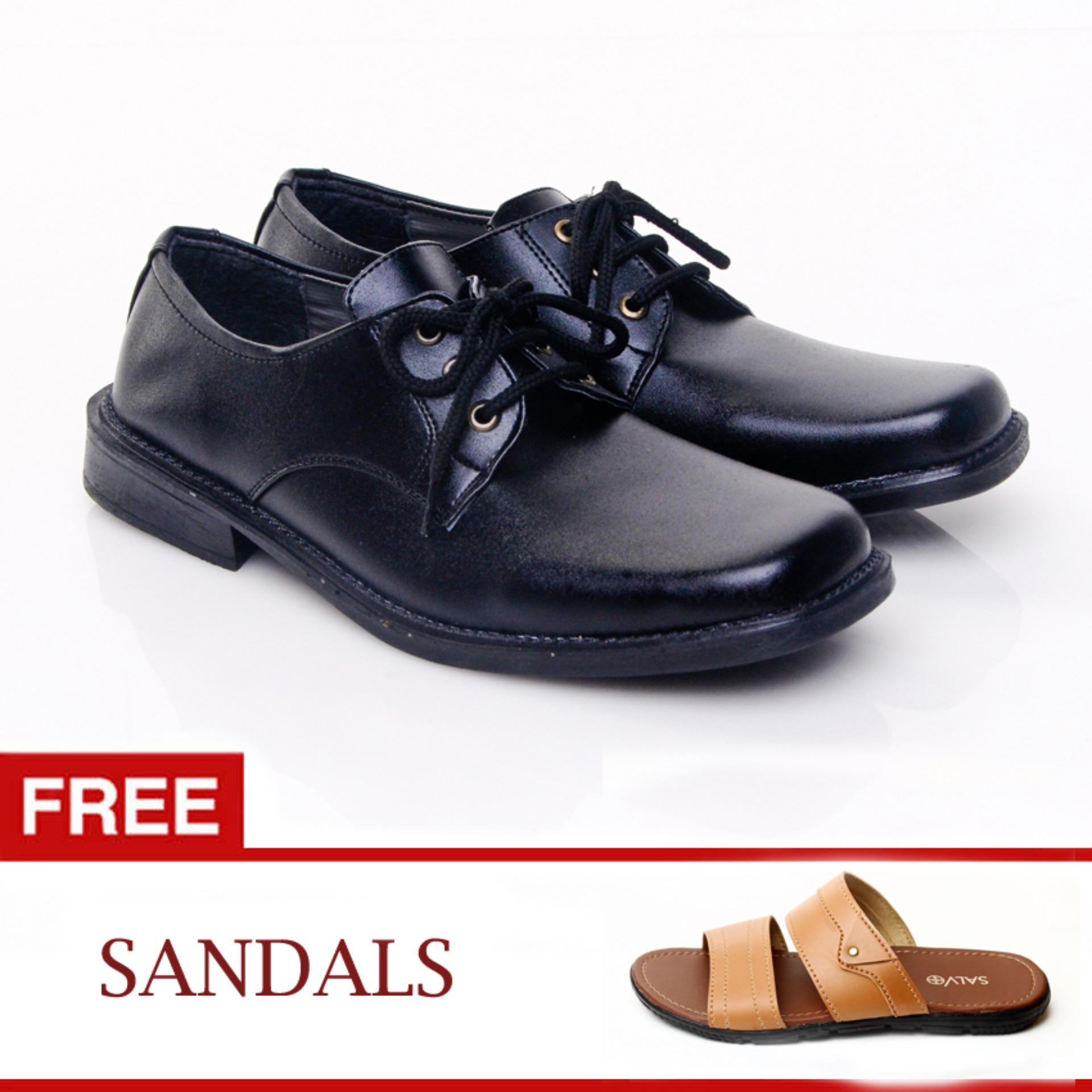 Spesifikasi Salvo Sepatu Formal Kf404 Free L01 Tan Online
