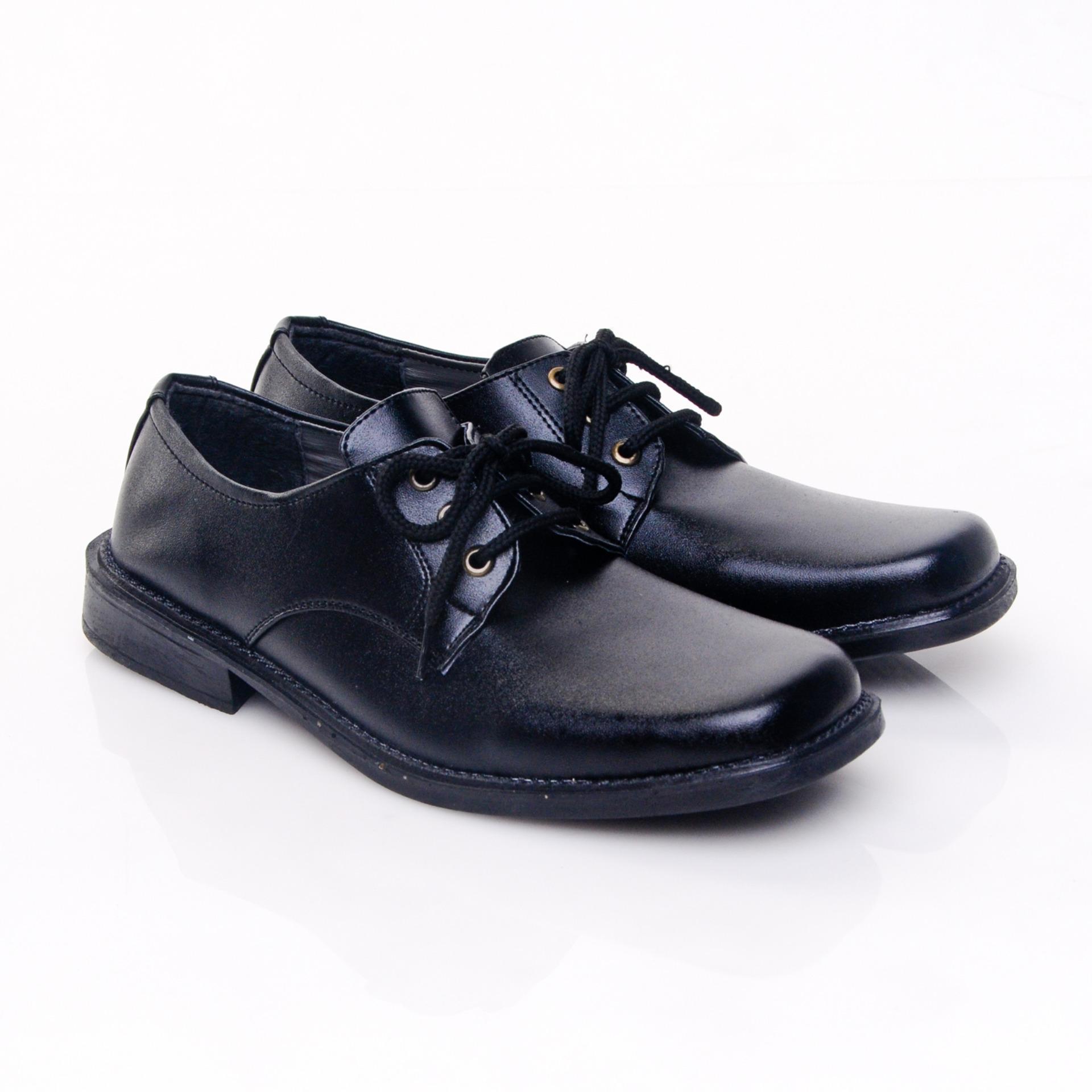 Beli Salvo Sepatu Pantofel Kf404 Hitam Salvo Murah