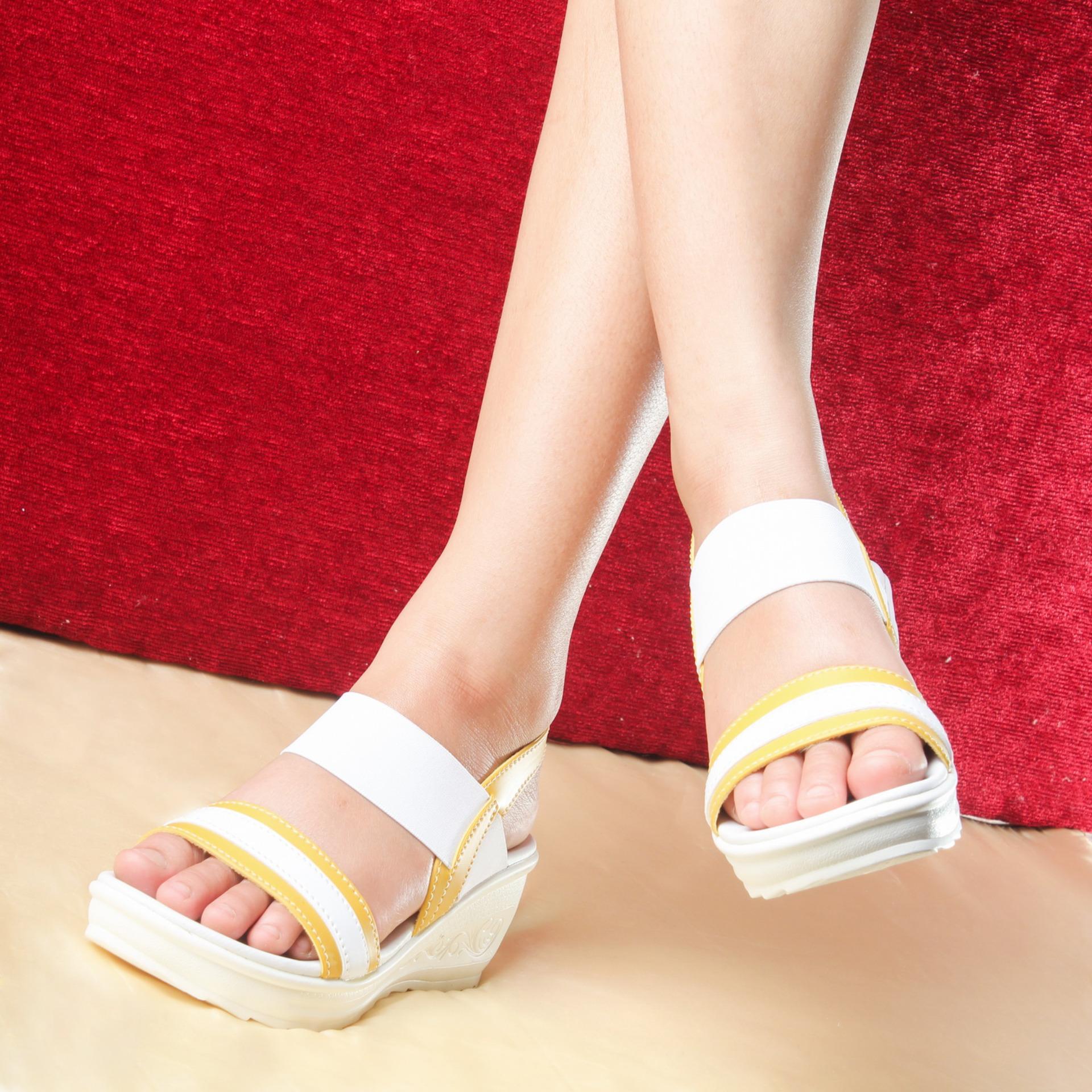 Spek Salvora Sandal Wedges Ws Yellow Jawa Timur