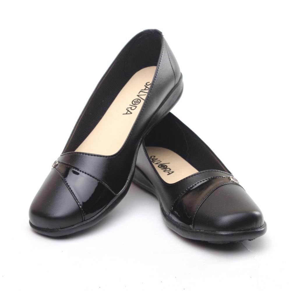 Salvora sepatu formal wanita / sepatu wanita / sepatu wanita murah / sepatu kerja wanita / sepatu kerja wanita pantofel / sepatu wanita hitam T.TP (hitam, coklat, krem, putih)