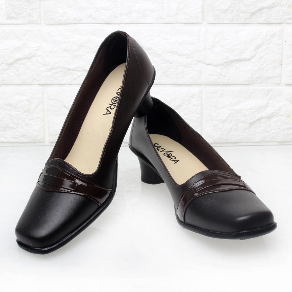 Salvora sepatu formal wanita / sepatu wanita / sepatu wanita murah / sepatu kerja wanita / sepatu kerja wanita pantofel / sepatu wanita kerja coklat / sepatu wanita kerja hitam 5cm 02