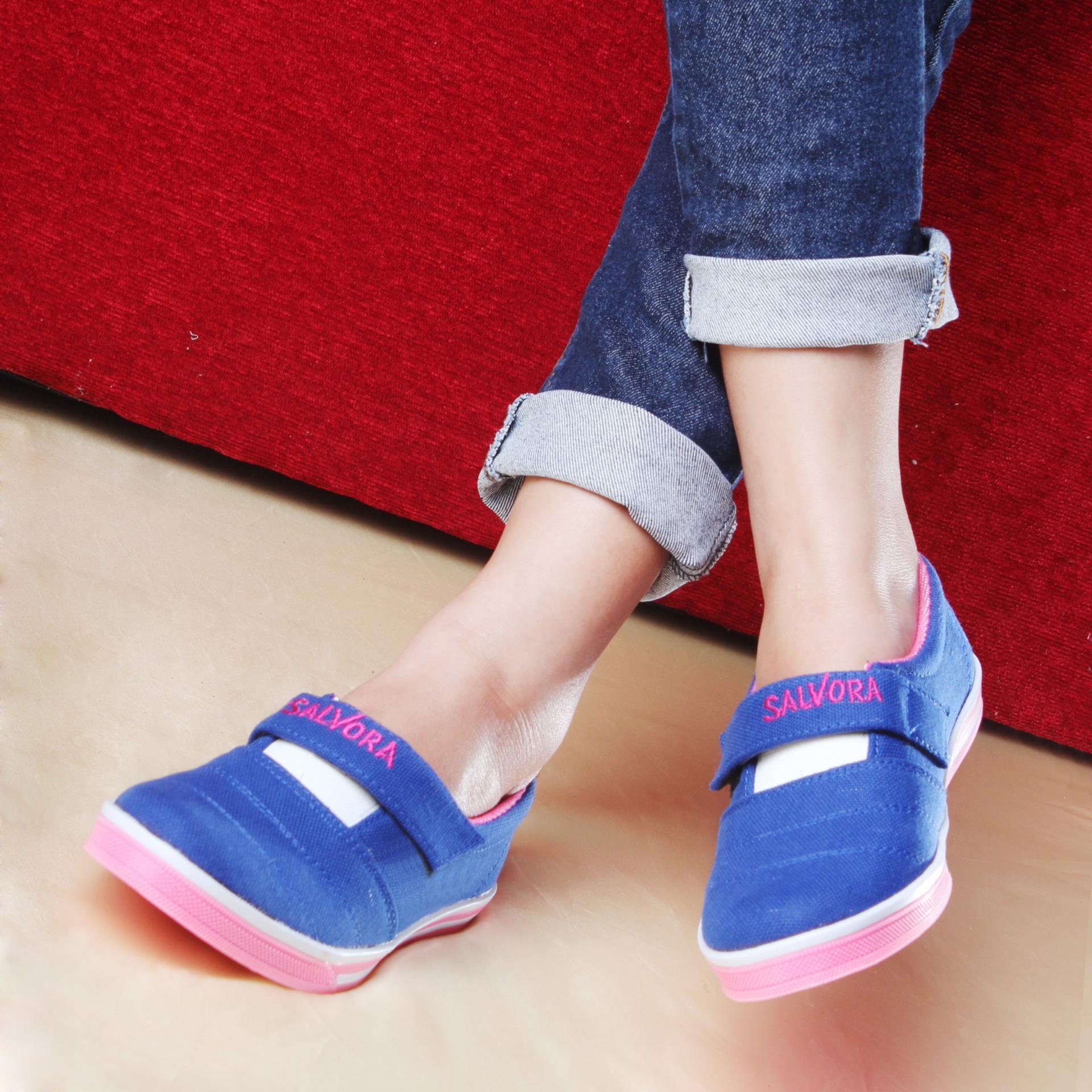 Salvora / Fashion wanita / flat shoes / flat shoes wanita / flatshoes / sepatu casual / sepatu cewek / sepatu cewe / sepatu flat / sepatu flat wanita ...