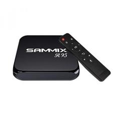 SAMMIX R95 Android TV Box, Android 6.0 1 GB/8 GB EMMC FLASH Amlogic S905X Quad Cortex-A53 2.0 GHz 64bit, Quad Core GPU MALI-450, Kotak TV untuk Hiburan Rumah-Intl