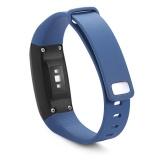 Harga S L 14Mm Silicone Band Untuk V07 Smart Watch Biru Intl Yang Murah
