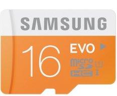Beli Samsung 16Gb Microsdhc Evo Uhs I Class 10 48Mb S Oranye Putih Yang Bagus