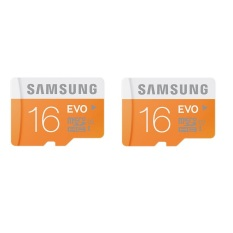 Beli Samsung 16Gb Package Microsdhc Evo Uhs I Class 10 48Mb S Oranye Putih 2 Buah Kredit