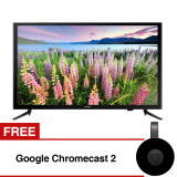 Samsung 40 Inch Full Hd Digital Led Tv Hitam Model Ua40M5000 With Free Gift Google Chromecast 2 Samsung Diskon 30